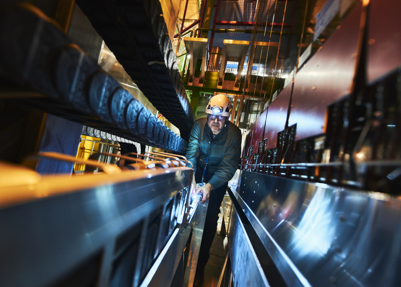 Climbing LHC
