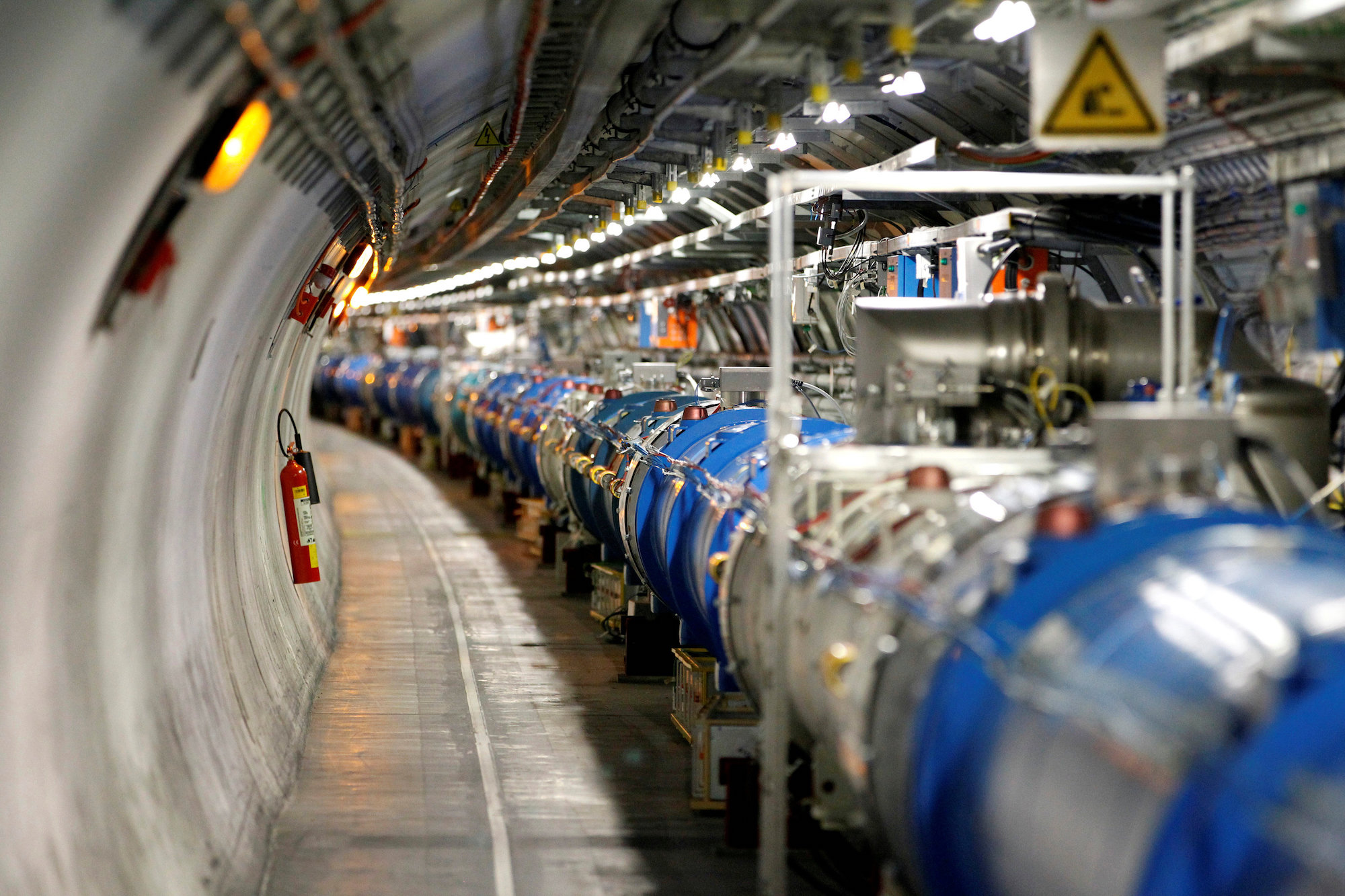 General view of the LHC at the CERN