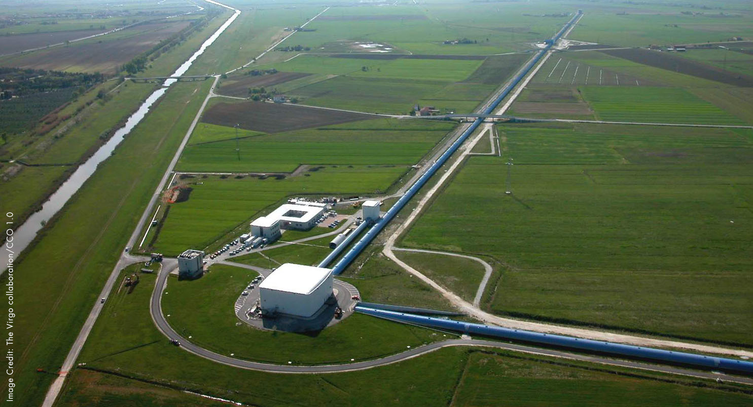 LIGO Virgo Arial View